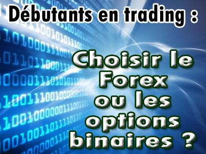 trader en ligne option binaire